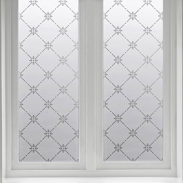 Vindusfolie Luster 48 x 67 cm   Vindufolie.no - Limfri vindusfolie til skjerming av innsyn