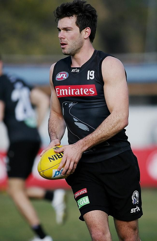 Collingwood midfielder Levi Greenwood. Picture: Colleen Petch