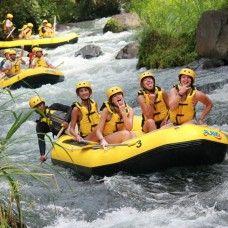 Rafting in Telaga Waja river