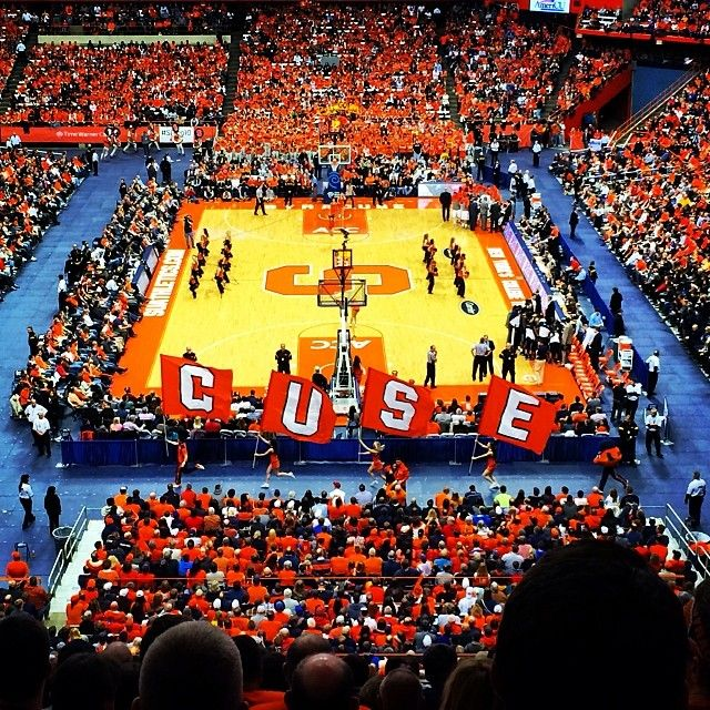 Let's Go Orange! When football starts that just means it closer to basketball season!