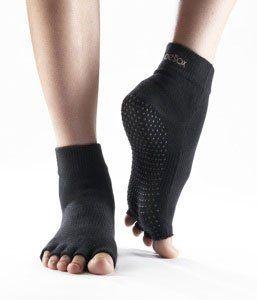 Obsessed! so cool! ToeSox Half Toe Yoga/Pilates Toe Socks With Grips, « Clothing Impulse