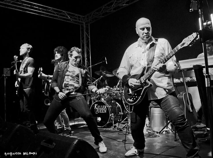 Official #Queen Tribute Band #KillerQueen will play on stage at #HRCFirenze