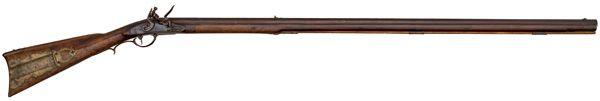 Flintlock Kentucky Rifle Signed M. Martin Sheetz - Cowan's Auctions
