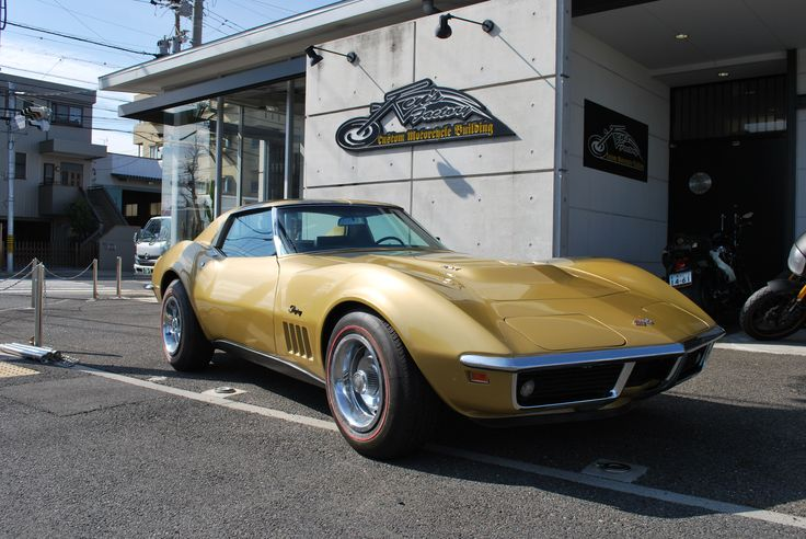 1969 Corvette 427/Tripower Matching # Original Riverside Gold