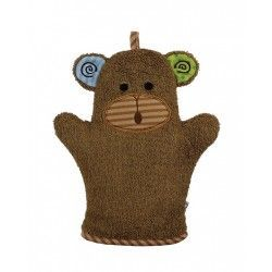 Zoocchini Bath Mitt - Max the Monkey makes bath time fun! Can be used for washing up or for fun puppet play.