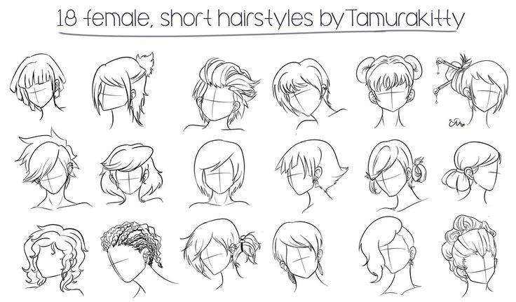 female short hairstyles tamurakitty