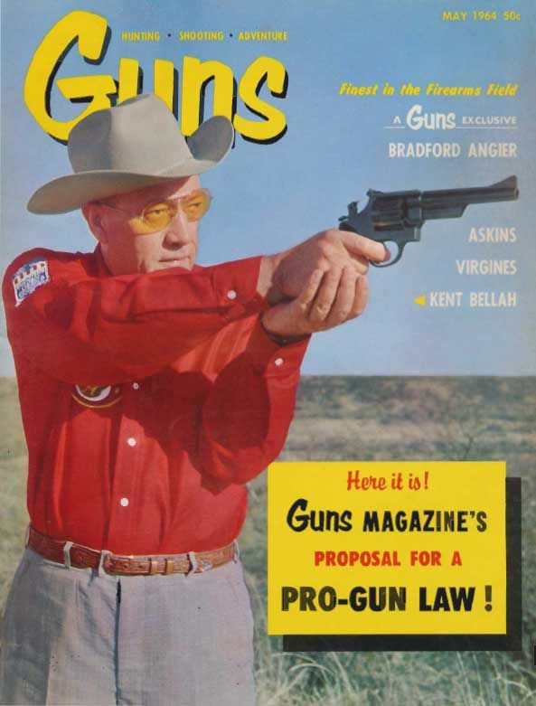 GUNS Magazine May 1964 | Classic Editions of GUNS Magazine | Click here to read this: http://www.gunsmagazine.com/1964issues/G0564.pdf