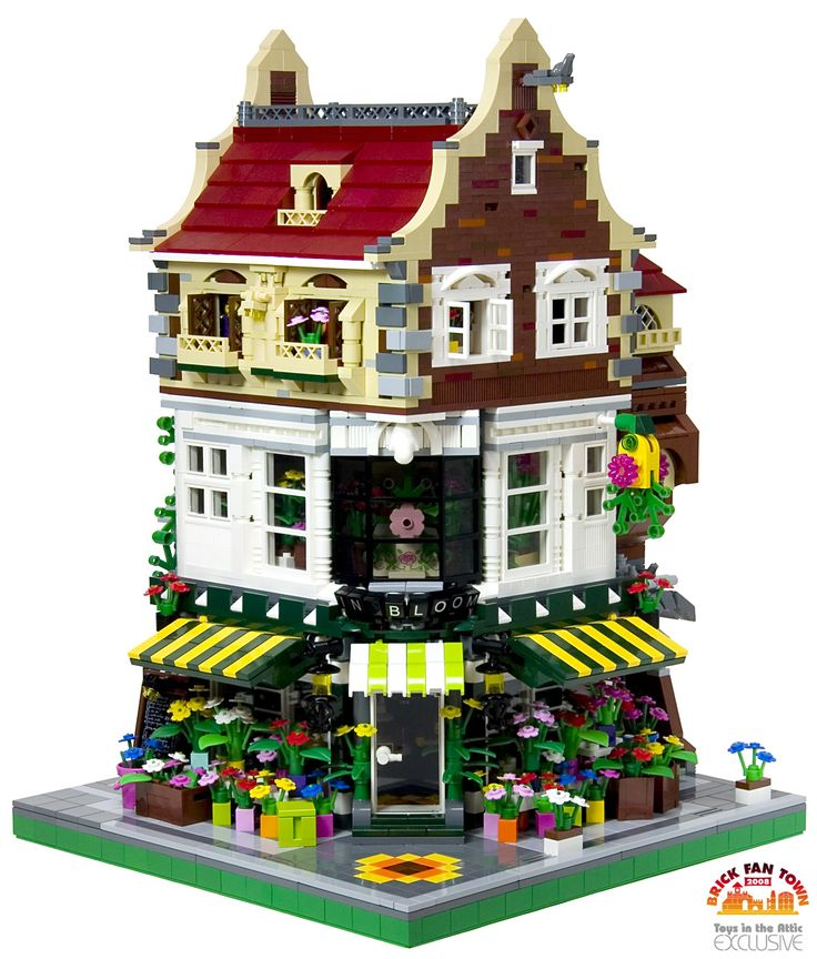 17 Best Images About Lego Modular City Buildings On