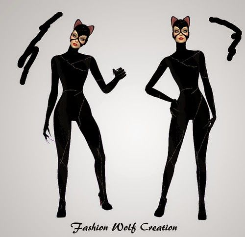 Catwoman suit for Selena Kyle