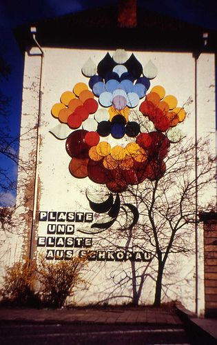 Bunawerk advertisement, Merseburg
