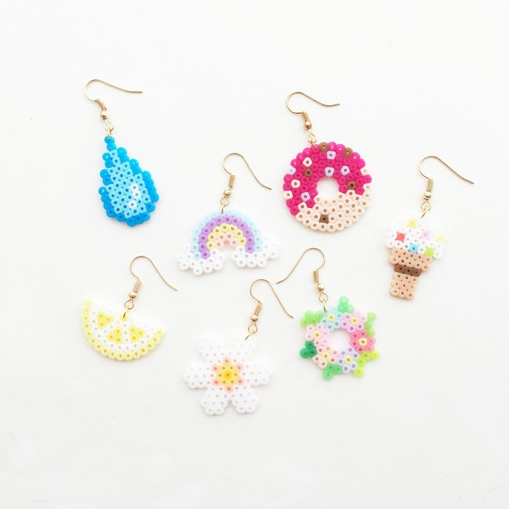 Girly Girl Boutique Earrings on Girly Girl の To Alice.Fairy Handmade Pixel Earrings Cute Kawaii Cartoon Eardrop Gg394 is a must to make an amazing outfit. You can wear it in any occasion - school, office, dates, and parties.