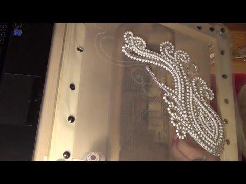 Вышивка люневильским крючком от Виктории Бойко, свадебная вышивка - YouTube
