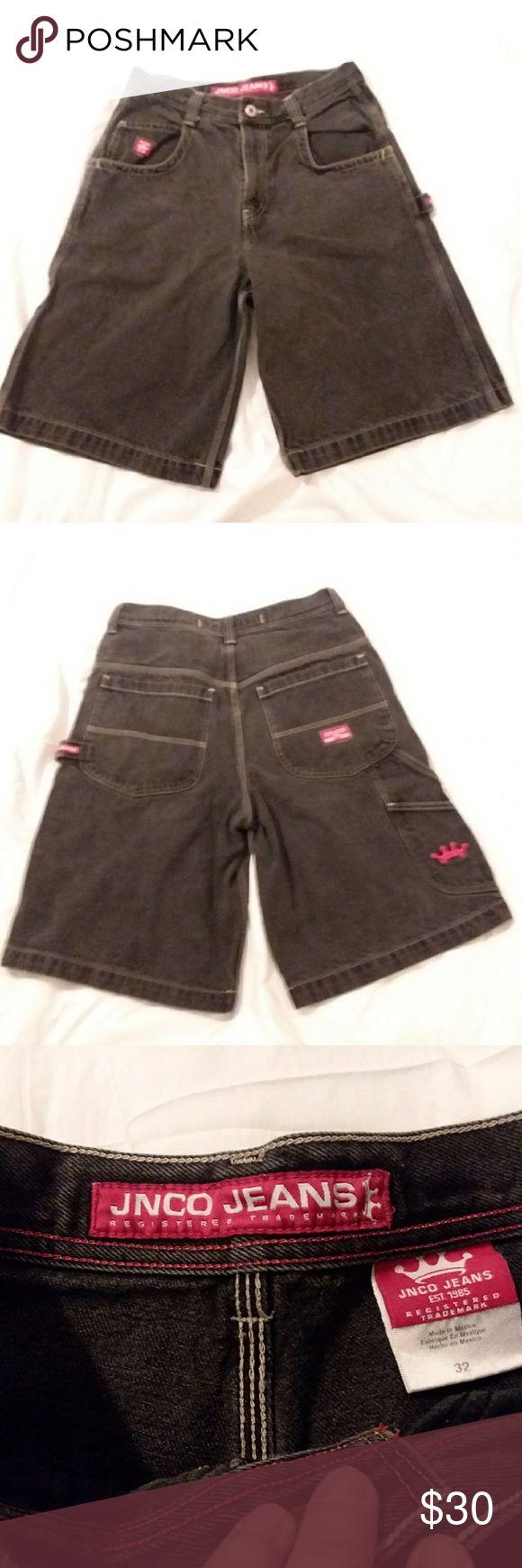 JNCO jean shorts men's sz 32 Preowned in EUC JNCO Shorts Jean Shorts