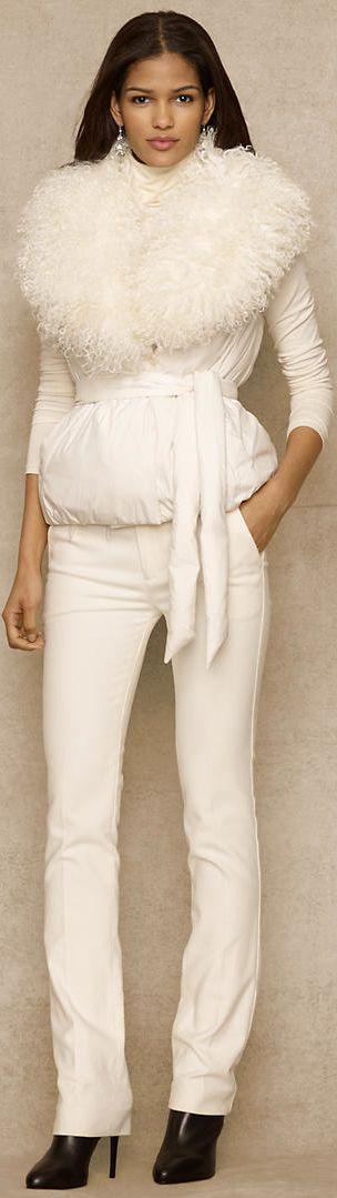 #Ralph Lauren #Trend White on White