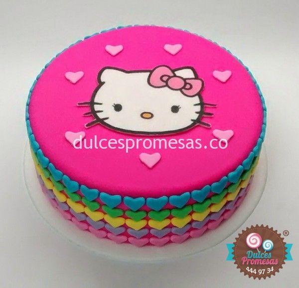tortas de kitty imagenes - Buscar con Google                                                                                                                                                      Más