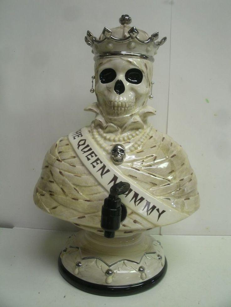 Dept 56 Halloween Queen Mummy Cider Server NEW IN BOX Very RARE