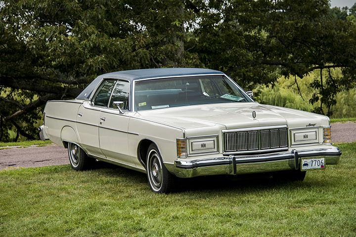 1977 Mercury Marquis Brougham-o m goodness, had this car in the 80's. could fit 30 people in it, not counting the trunk!!!!