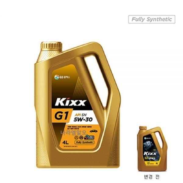 Kixx G1 Sn 5w 30 4l 엔진오일 2020 제품