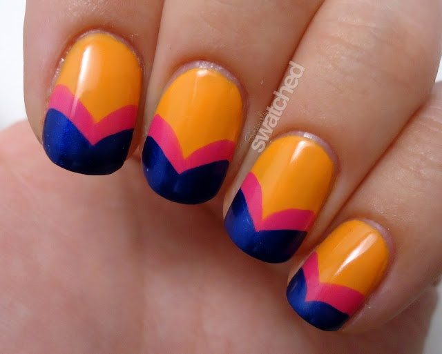 Seriously Swatched: Twinsie Tuesday - Fishtail Manicure