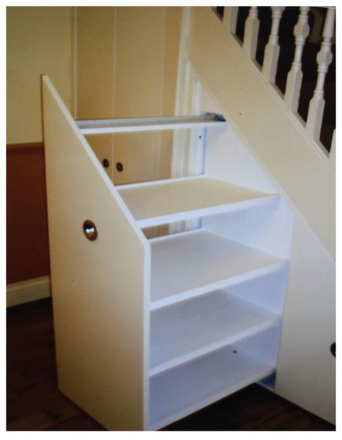 636 best images about stairs stair storage on Pinterest