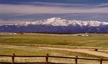 pikes peak, Colorado.