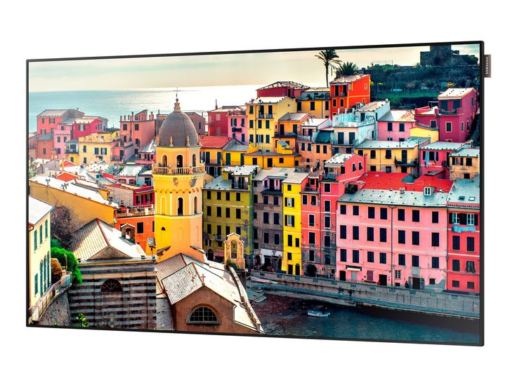 "Samsung UE46D/US UE46D, 46'' 1080p Full HD LED-Backlit LCD Flat Panel Display, Black. Edge-lit LED 46"" Display with narrow bezels at 11mm btb. Enhanced ssp system-on-chip (soc) performance with Quad Core Processor. Stylish, ultra-slim 1.2"" chassis design. Pc-less video walls and built-in Wi-Fi."
