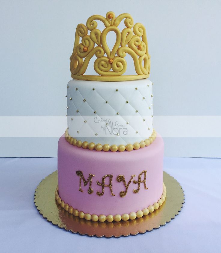 Princess Baby Shower Cake | Cakes And More By Nora