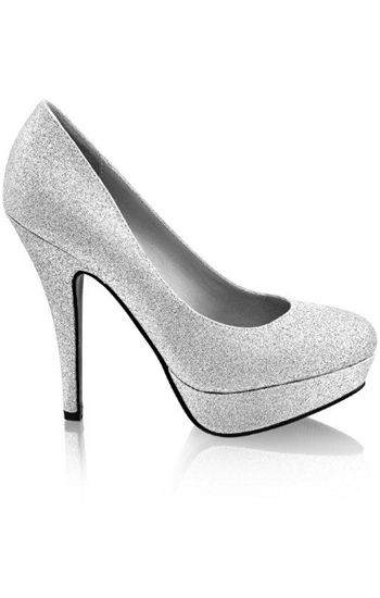 I bought silver glittery heels at Cato for $5.99 (steal!) and they look a lot like these