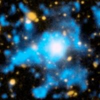"""The Intergalactic Medium Unveiled: Caltech's Cosmic Web Imager Directly Observes """"Dim Matter"""" - See more at: http://www.caltech.edu/content/intergalactic-medium-unveiled-caltechs-cosmic-web-imager-directly-observes-dim-matter#sthash.TpFHgR35.dpuf"""