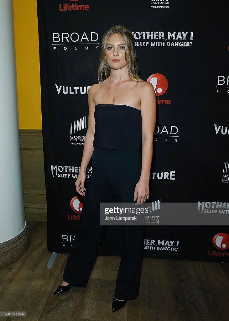 Leila George  attends 'Mother, May I Sleep With Danger?' New York screening at Crosby Street Theater on June 7, 2016 in New York City.  (Photo by John Lamparski/WireImage)