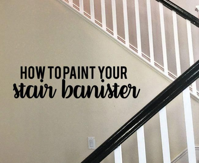 Best How To Paint Your Stair Railings And Banister Step By 400 x 300