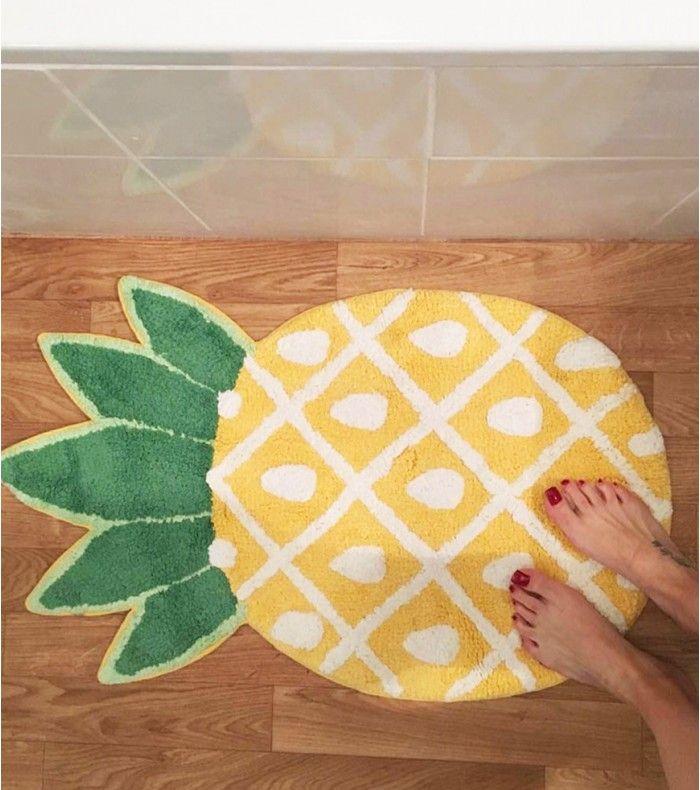 Tapis de bain ananas - 17€  (11/2016)