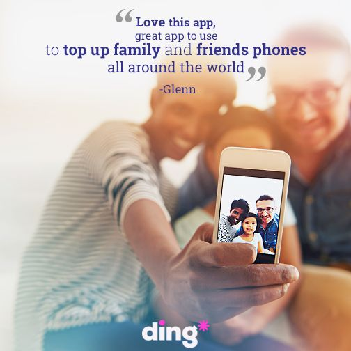 Thanks to Glen who recently left us this fantastic review of the Ding app. Have you tried it? Download it today