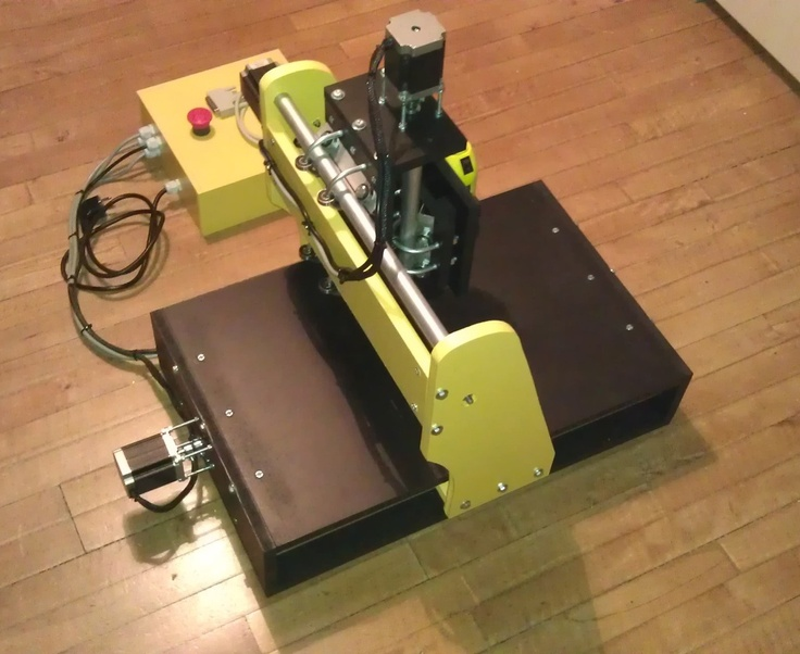 Cheap CNC Router small version by nic6911.