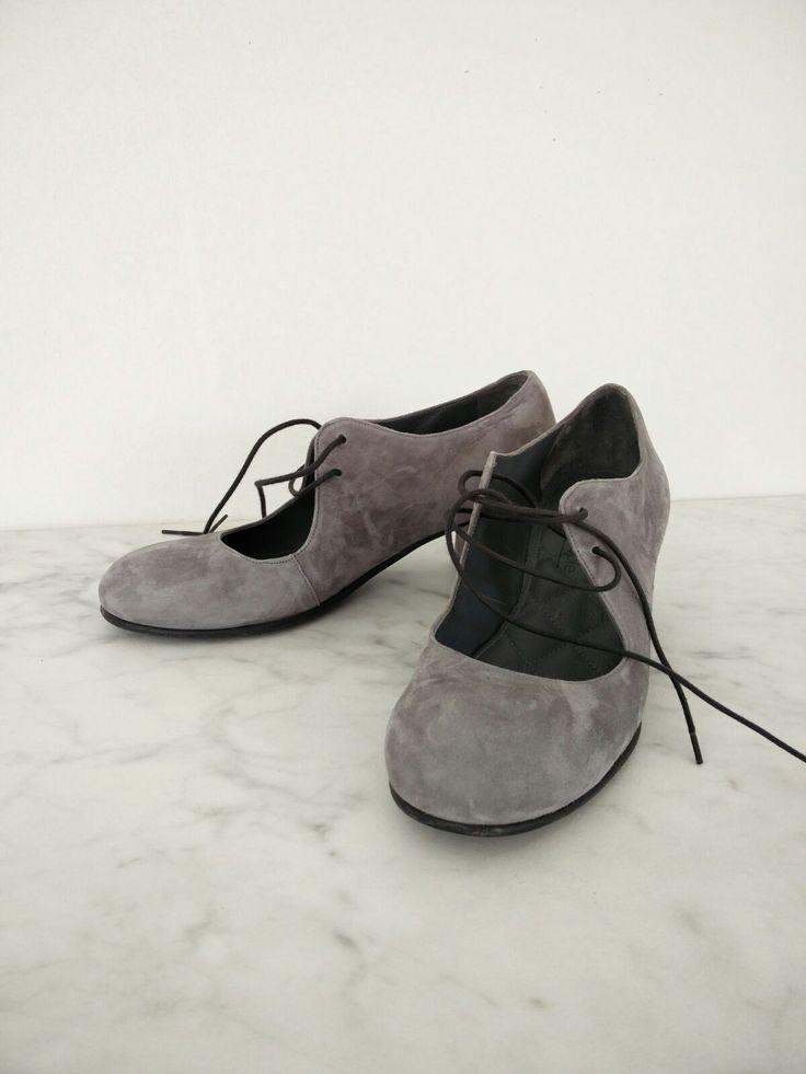 Nordic ShoePeople .....Grey suede