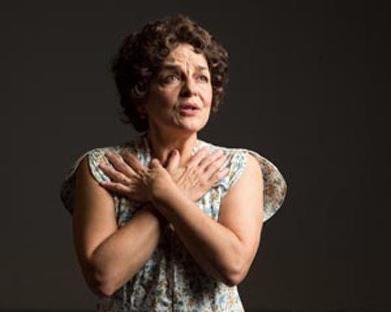"""Priscilla Lopez in """"Somewhere"""""""