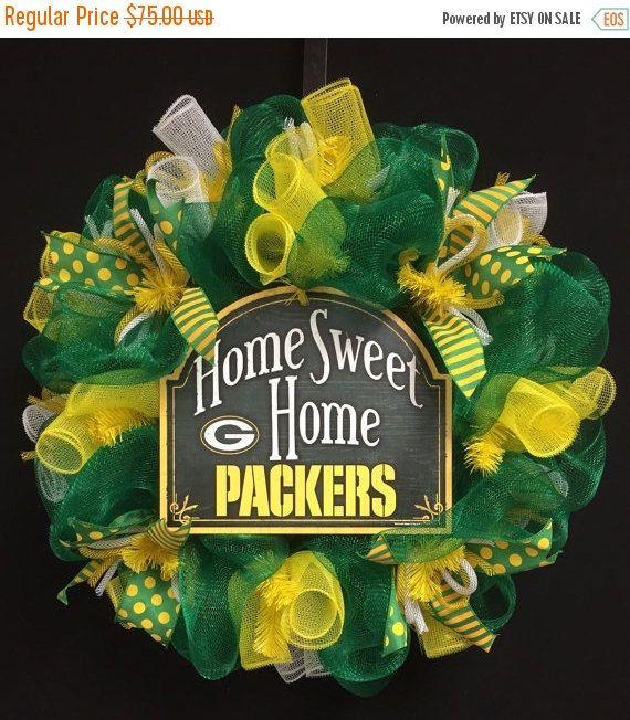 ON SALE Green Bay Sports Wreaths NFL Wreaths by wreathsbyrobin