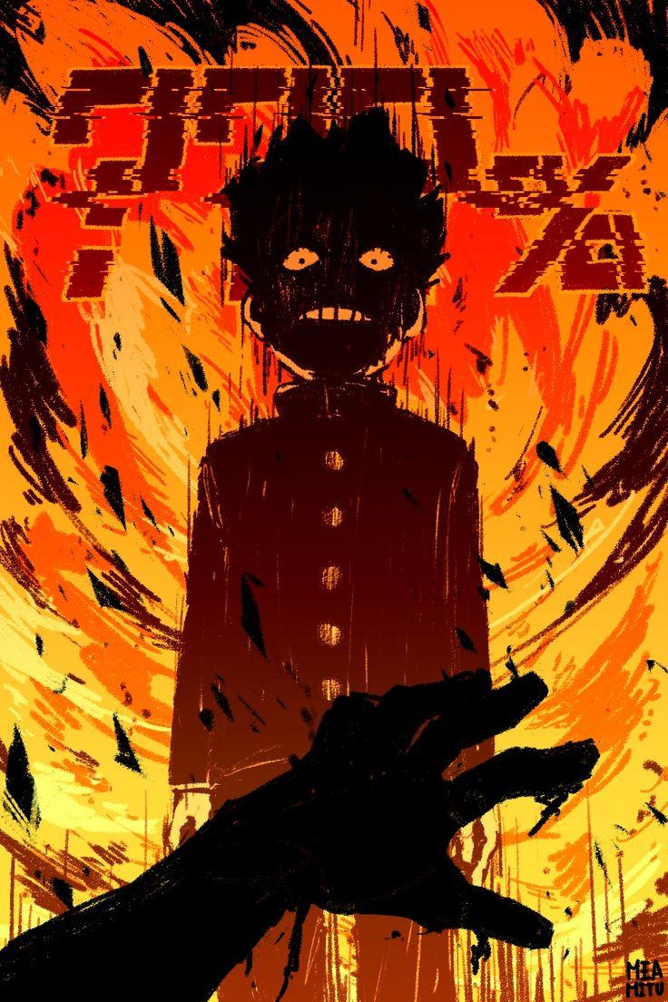 Pin de merb derb em Моб Психо 1оо Desenhos de anime