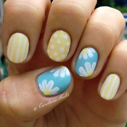 Daisies - I think these patterns would be cute on the chest we are painting for emma