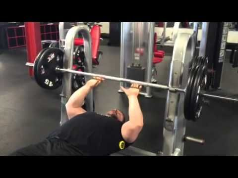 Close grip bench press build triceps with coach Gary Miller subscribe @ www.GaryMillerFitness.com