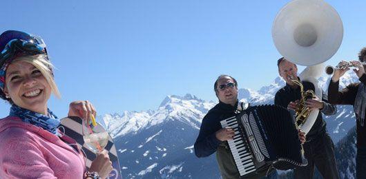 Dolomiti Ski Jazz 2016 in Val di Fiemme con Ty Le Blanc, Roberto Gatto New Quartet, Donny McCaslin per un'esperienza indimenticabile sugli sci in Trentino.