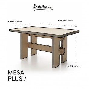 Kartelier | Muebles de cartón - Mesa de cartón