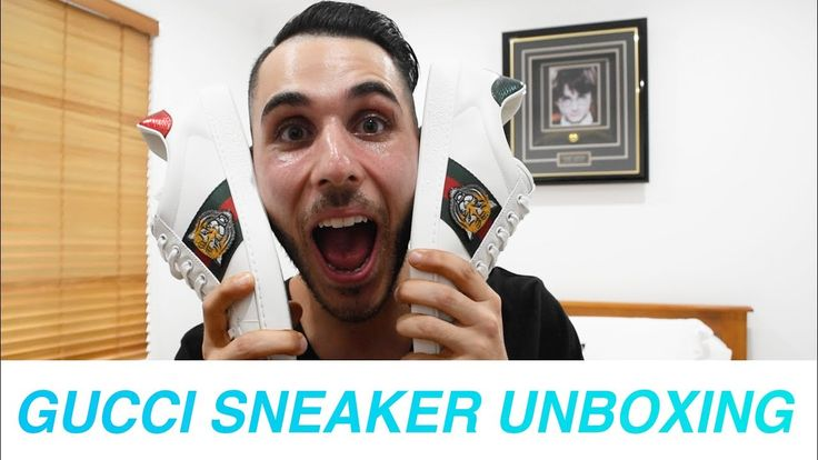 Gucci Ace Sneaker Unboxing + Review   Meet Chris