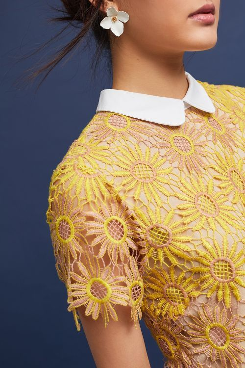 Sunflower Lace Dress