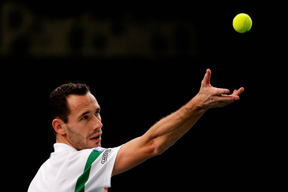Michael Llodra Photo - BNP Paribas Masters - Day Five