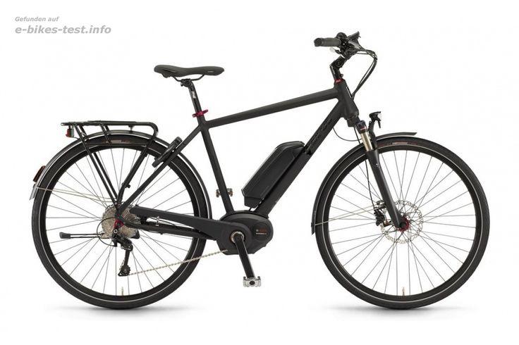 Sinus Ebike Fahrrad BT80 Herren 500Wh 28 Zoll 10-G Deore XT schwarz matt