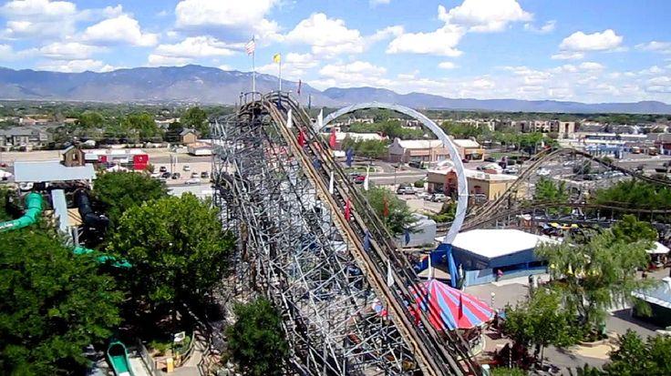 Cliff Hanger on-ride HD POV Cliff's Amusement Park