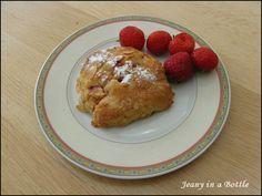 Jeanys cooking: Aardbeien ricotta scones, zonder geraffineerde suiker