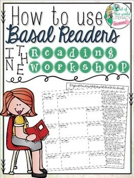 FREE RESOURCE.  How do you use the reading workshop model when your district requires you teach from a basal reading program?  Find out how I did it!!