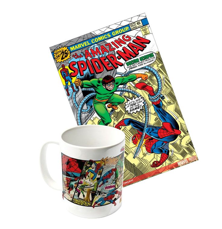 Mug très vintage Spiderman   avec Dr Octopus 2017 tiré du comic book Marvel The Amazing Spider-man vol 1 157 e 1976. #cadeau #mug #tasse #spiderman #collector #collection #geek #comicbook #marvel #comics